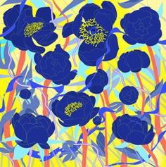 Flower Pattern illustrated by Andrei Robu www.robu.co