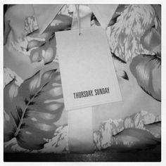 THURSDAY, SUNDAY #fashion #sunday #thursday #shirt