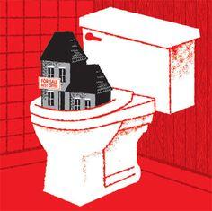grain edit · Sasha Barr Interview #poster #illustration #real estate #toilet #house