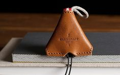 hard graft leather goods #storage #headphone #accessories #leather