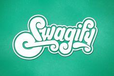 eduardorh » SWAGIFY #swag #script #brand #identity #logo