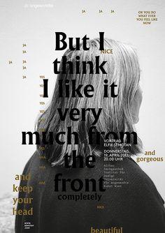 Studio Vie Poster Design