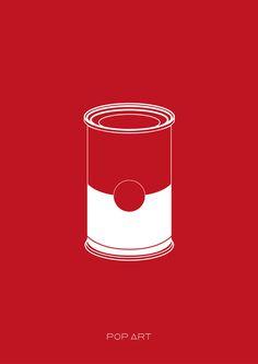 POP-ART #minimalistic #design #graphic #posters #minimal #poster #minimalist