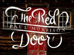 Typeverything.comThe Red Door by Ryan Hamrick. #morrison #red #door #photography #graphics #paul