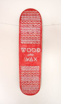 Wood and Wax'12 #design #identity #graphic #festival #kate #fest #port