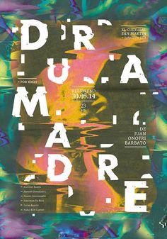 D u R A m A D R E #poster #typography
