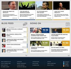 Marquette University - SCAR #website #grid #interface