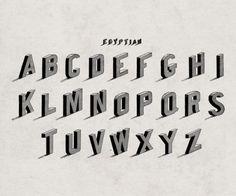 alphabet_2 #typography #vintage #font