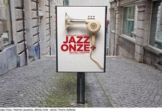 Enzed - Graphic Design #jazz #switzerland #festival #poster