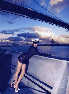 Theres Alexandersson by Camilla Akrans - Touchpuppet #vogue #girl #sailor #nippon #photography #fashion #magazine