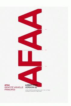 AFAA - Identité : bureau-205 #graphicdesign #identity