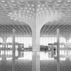 #airports #architecture Mumbai airport terminal by SOM