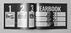 yearbook design template