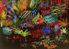 tumblr_lor8v7AF3v1r0rh6xo1_1280.jpg (994×715) #paint #illustration