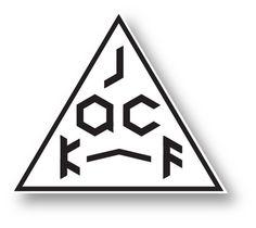 MINIMALSONIC #triangle #mask #jack #f logo