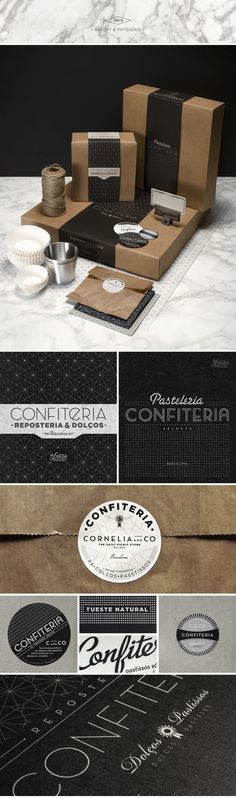 CORNELIA and CO [ Brand identity #type #brand #identity #stationary
