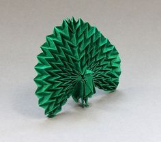 Beautiful Examples of Origami Paper Art #origami #paper #art