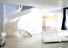 Concrete Spiral Staircases by Rizzi lightweight concrete staircase