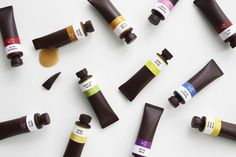 Edible Chocolate Paint Tubes by Nendo #chocolate #paint #tubes