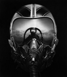 It's Nice That : Robert Longo: Yingxiong #monochrome #photo #helmet #pilot