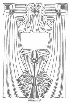Art Nouveau 7 #pattern