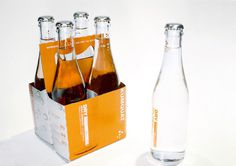 DRY Soda Company #packaging