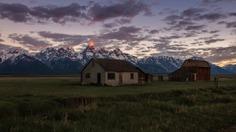 Moring at Mormon Row – Grand Teton National Park