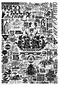 LMS Logo Sheet on the Behance Network #logo #illustration #studio #like #type #minded #typography