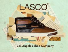 LASCO Ads. — kylemosher.com #cut #lasco #shoes #advertisement #sneakers #art #fashion #collage #paper