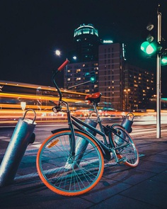 Warsaw at Night: Cinematic Urban Photography by Luke Pomotowski