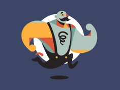 Strongman shot #vector #character #design #strongman