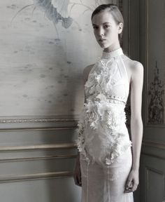 Givenchy Haute Couture Autumn/Winter 2011 #couture #givenchy #haute #white
