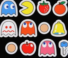 Paladone Pac-Man Magnets #gadget
