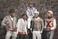 South African knitwear   Laduma ngxokolo