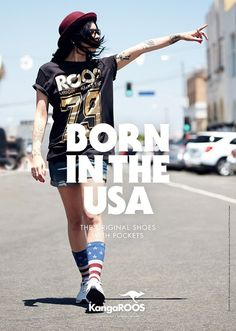 Bernstein & Andriulli: Born in the USA #design #graphic #poster #typography