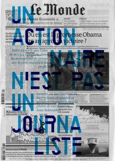 __ #le #monde #newspaper #typography
