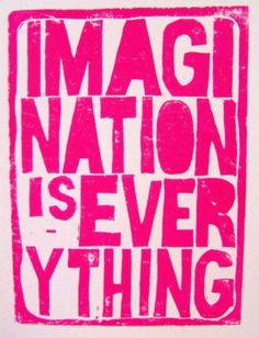 Typeverything.com - Imagination is Everything (via by thebigharumph)