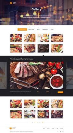 Eureka – Multipurpose PSD Template #ux #design #food #ui #restaurant #cafe #web