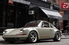 Singer Vehicle Design #automobile #classic #vintage #singer #porsche #car