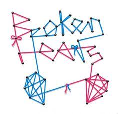 Todos os tamanhos | Broken Line Hearts | Flickr – Compartilhamento de fotos! #type #line #cyan #magenta
