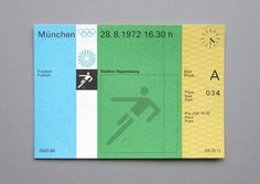 WANKEN - The Blog of Shelby White #olympic #otl #1972 #aicher #games #munich