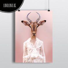 #wild #fashion #poster #minimal #animal  Poster realizado por mi para lokoloko.es