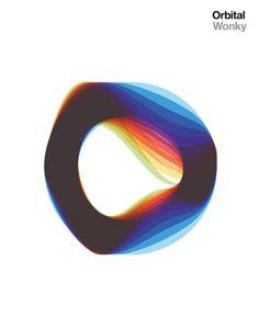 Orbital - Wonky #logo #abstract