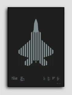 ☰✪☰ F-22 Raptor (on KIckstarter til Wed, Sep 24 2014) Morse code typography: F-22 Raptor (left) Stealth tactical combat aircraft (rig #silver #design #graphic #aircraft #plike #paper #metallic