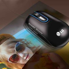 Smart Scan Mouse by LG #tech #flow #gadget #gift #ideas #cool