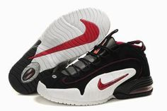 white black nike penny 1 sneaker mens #shoes