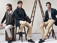 Ermenegildo Zegna Primavera Estate 2014 Uomo-Blu scuro #fashion #male #2014 #zegna