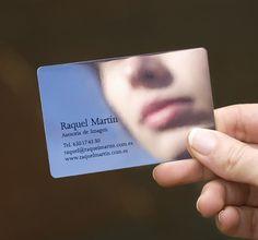 raquel martin. destacado. www.moruba.es #spain #business #card #logroo #de #asesora #imagen #mirror #raquel #martn #moruba