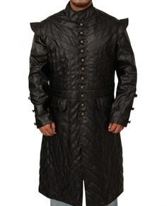 Captain Flint Black Sails Leather Coat