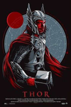 Thor-Taylor.jpg 852×1280 pixels #thor #illustration #movie #poster